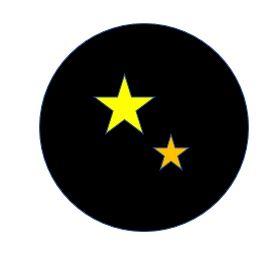 Une étoile double